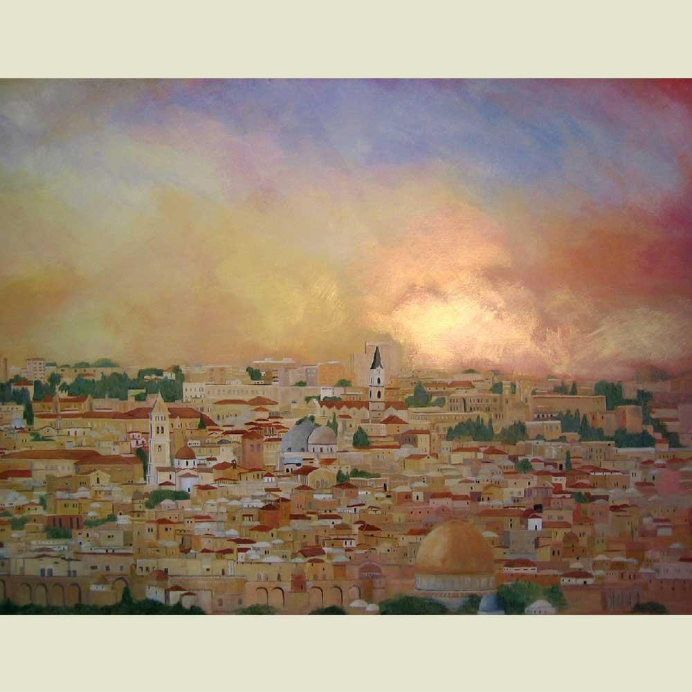 Jerusalem detail